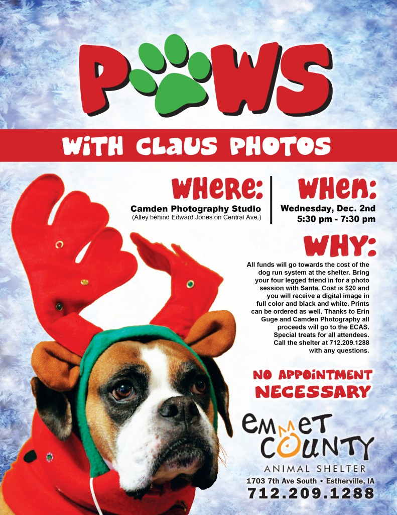 Paws with Claus flyer.indd